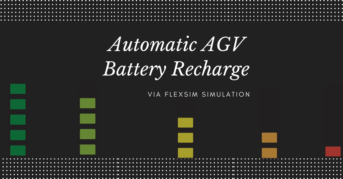 Automatic AGV Battery Recharge