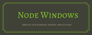 node windows service