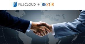 FileCloud and Bestir Partnership - Shaking hands