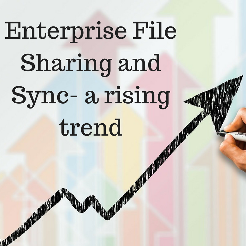 Enterprise File Sharing and Sync- a rising trend