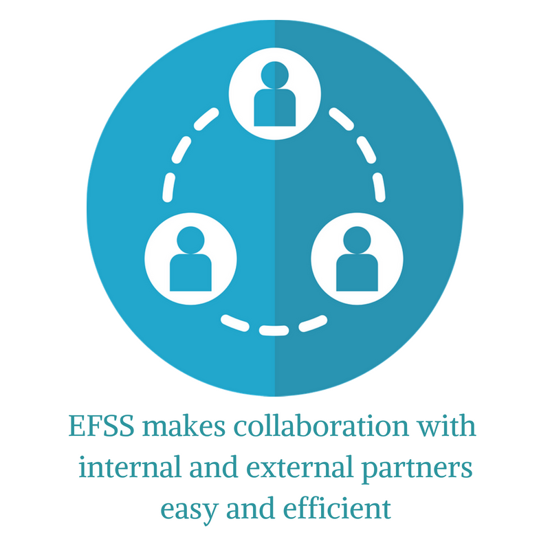 Collaboration to share files made easy with EFSS